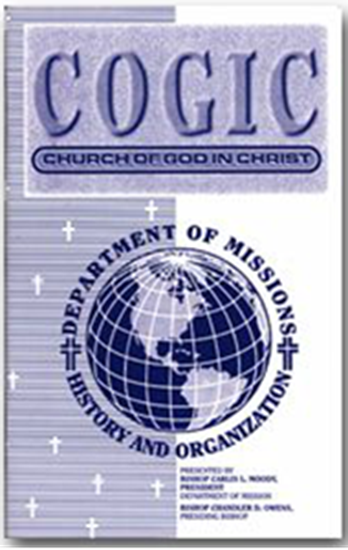 Picture of COGIC - DEPARTMENT OF MISSIONS HISTORY AND ORGANIZATION