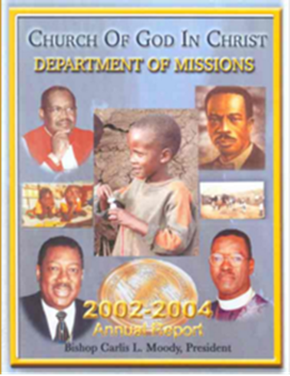 Picture of THE DEPARTMENT OF MISSIONS ANNUAL REPORTS FOR 1998, 2002 & 2004