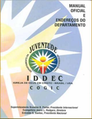 Picture of MANUAL OFICIAL E ENDERECOS DO DEPARTMENTO JUVENTUDE IFREJA DE DEUS EM CRISTO P BRASIL / USA