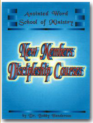 Picture of NEW MEMBERS DISCIPLESHIP COURSES